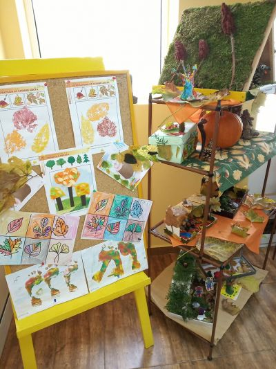 Късче есенна красота - изложба 1