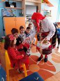 По традиция на гости ни беше Баба Марта - ДГ 49 Радост - София, Изгрев