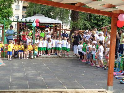 Спортен празник 25.06.2019г - ДГ 49 Радост - София, Изгрев